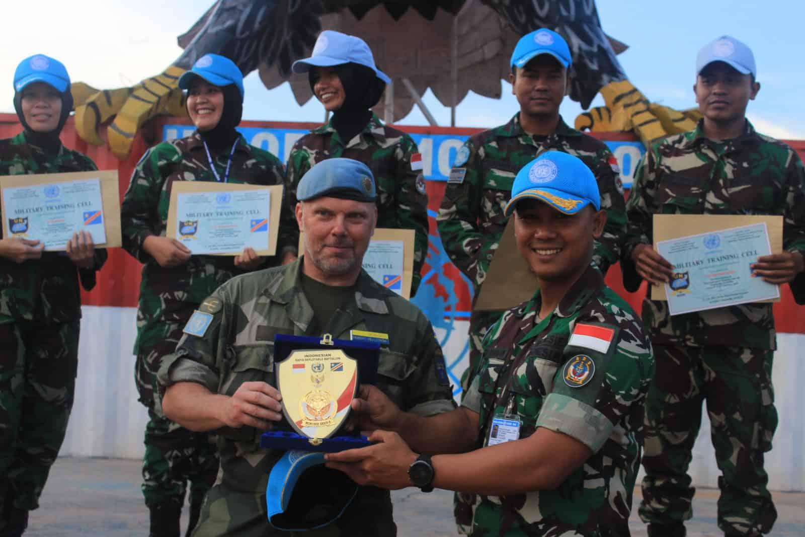 Contingent Training Capsule, Segarkan Kemampuan Satgas Indo RDB
