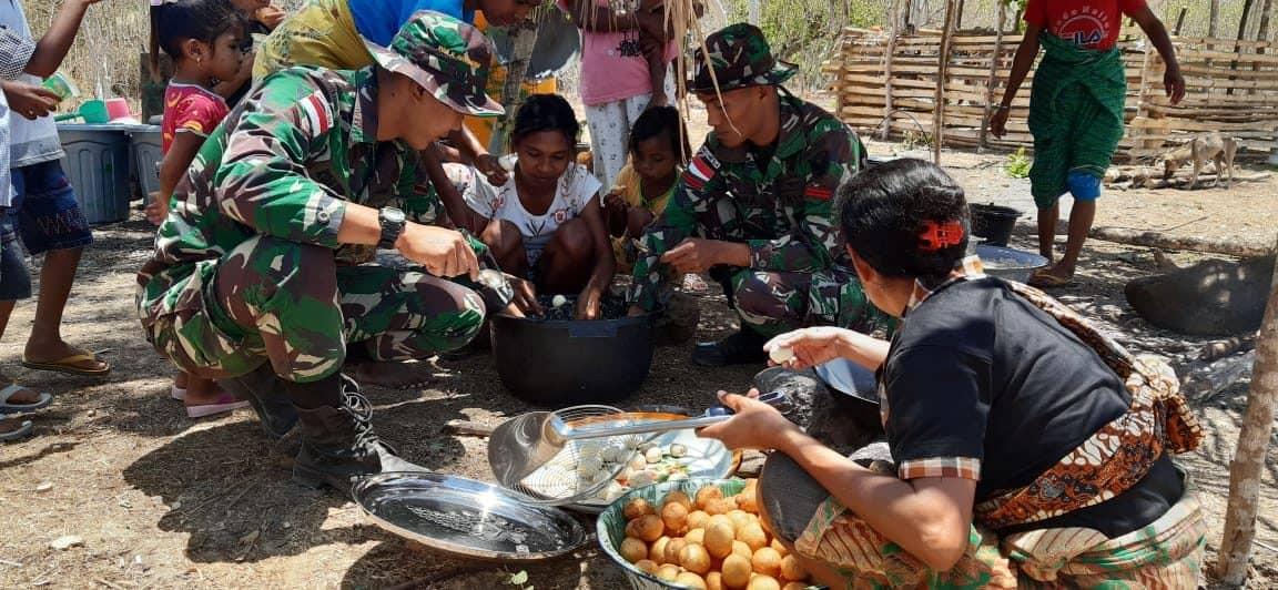 Satgas Yonif 142 Jadikan Pisang Dongkrak Ekonomi di Perbatasan RI-RDTL
