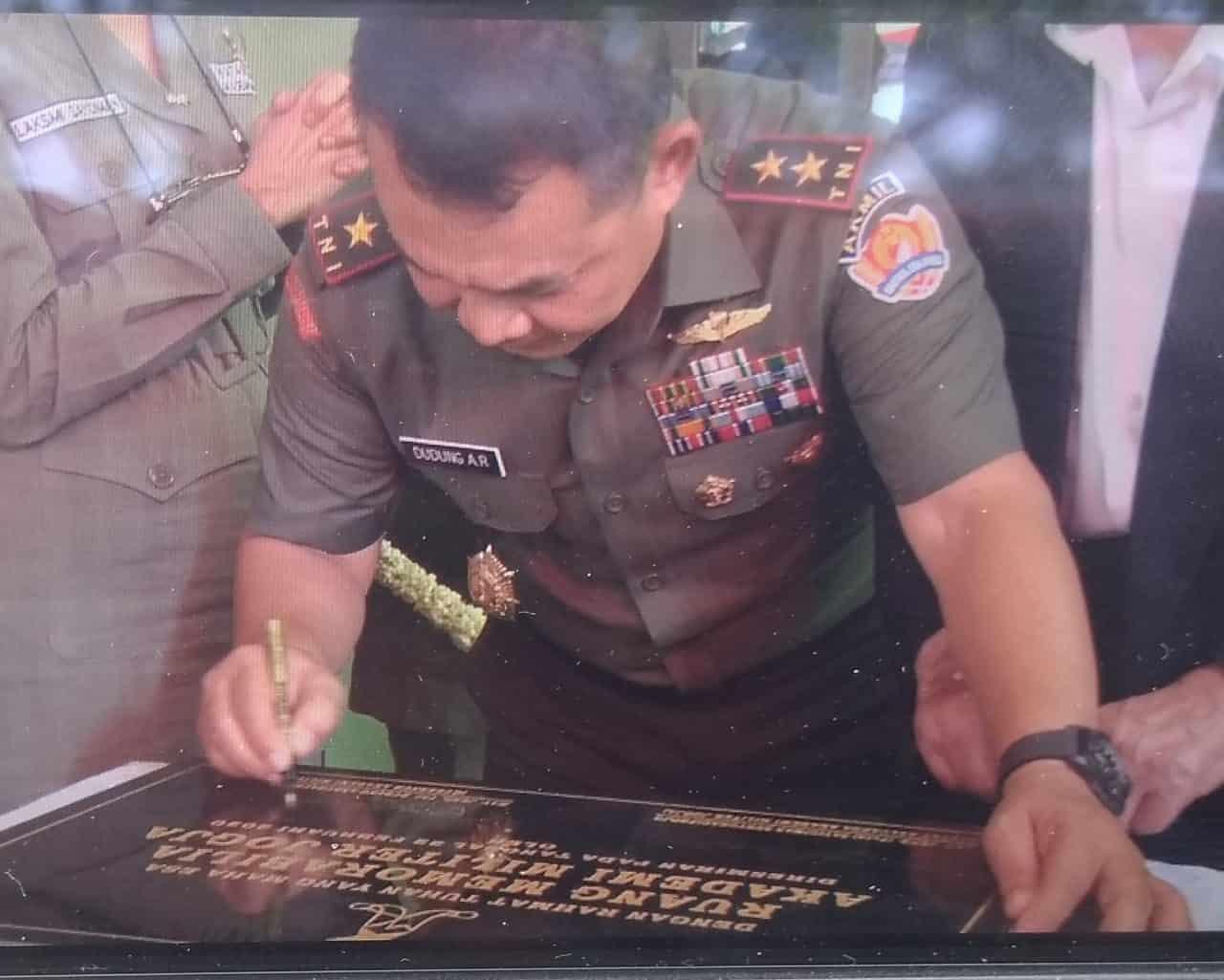Gubernur Akmil Resmikan Museum Memorabillia Akmil Yogyakarta