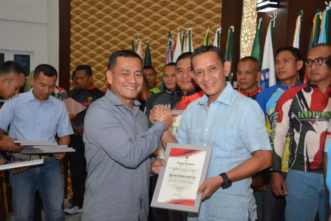 Deklarasi Army Cycling Club, Wakasad Kembangkan Olahraga Sepeda di Tanah Air