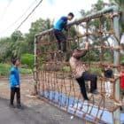 Outbound Kodim 1011/Klk Tumbuhkan Jiwa Kebangsaan Generasi Muda Kuala Kapuas