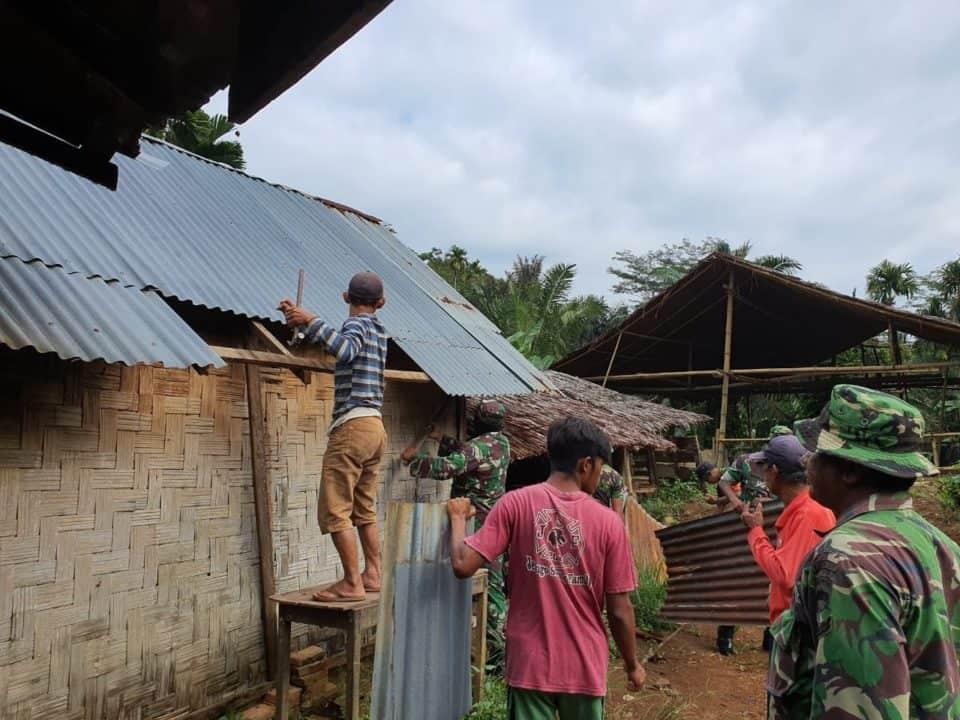 Tanggung 3 Anak, Rumah Pasutri Disabilitas di Renovasi Kodim 0201/BS Medan