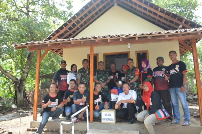 Tidak Layak Huni, Rumah Mbah Sarijah Di Renovasi Kodim 0802/Probolinggo