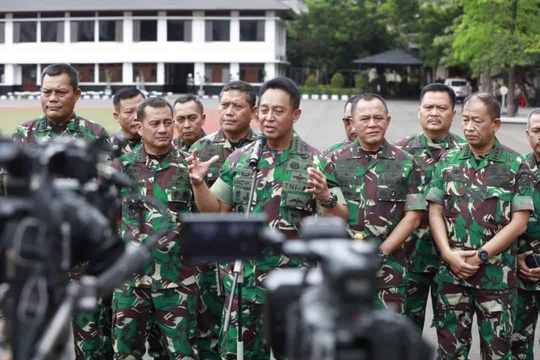 Kasad Pimpin Rapim TNI AD Tahun 2020 di Mabesad