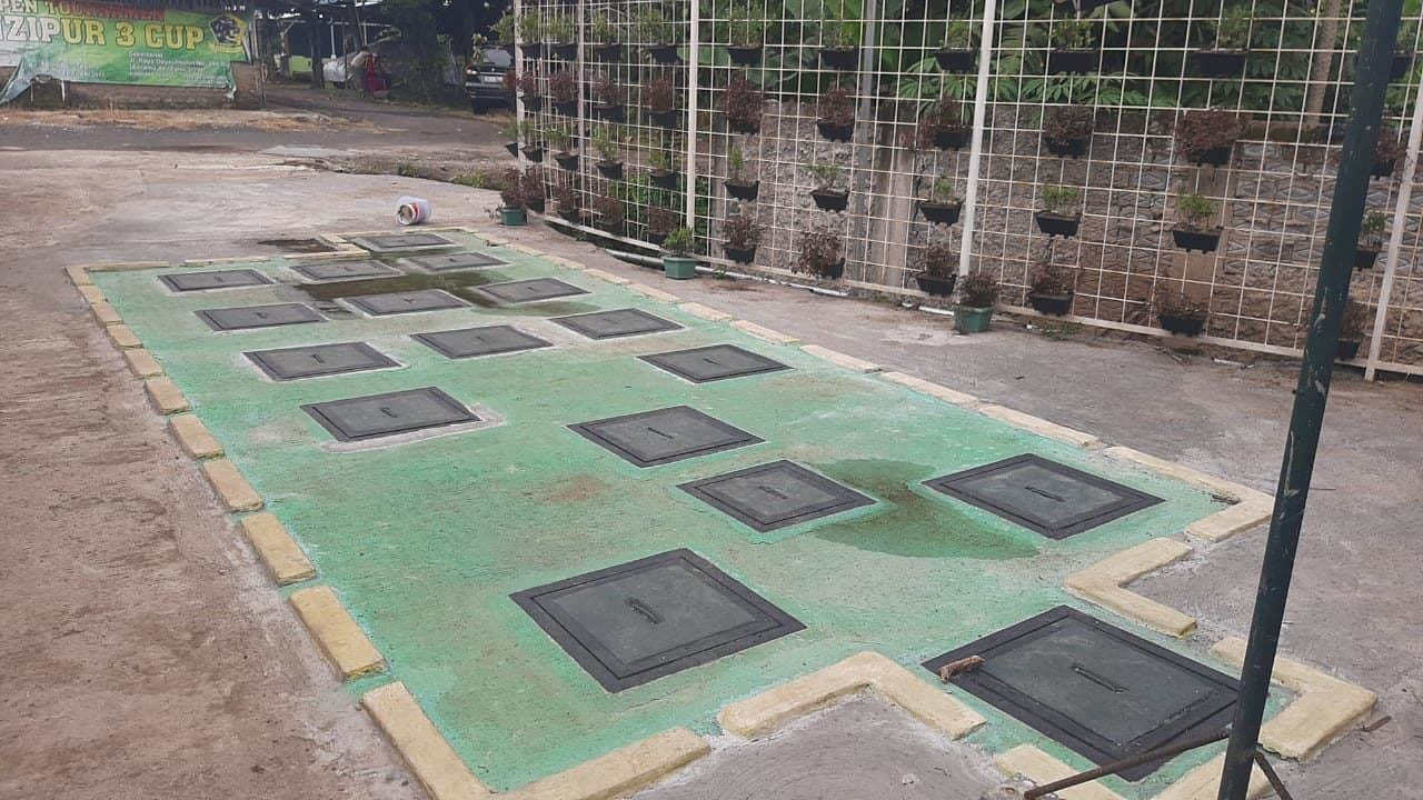 Citarum Harum, Pusdikhub Kodiklatad Bangun Sistem Pengolahan Air Limbah Terpusat