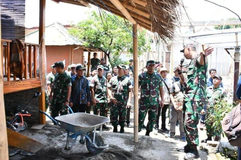 Kasum TNI Apresiasi Akselerasi Rehab Rekon Hunian Warga di NTB