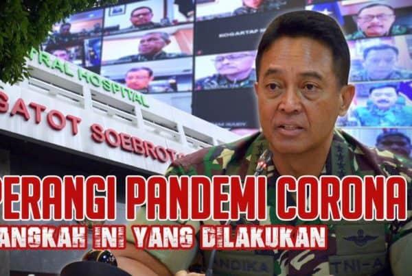 Perangi Pandemi Corona, Langkah ini yang Dilakukan…   BULETIN TNI AD