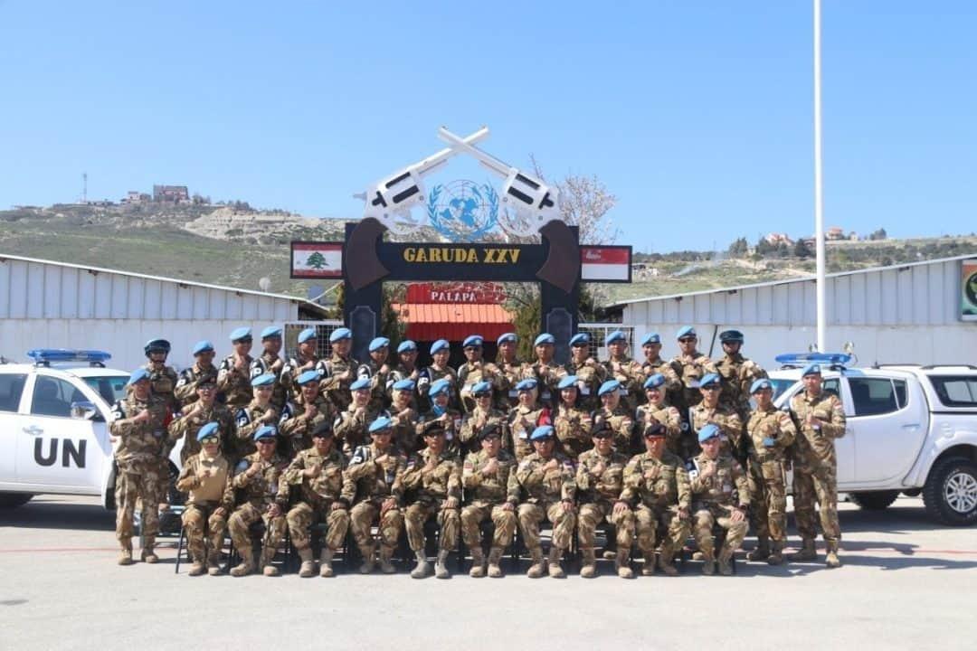 Kunjungi Satgas Garuda XXV-L/ UNIFIL SEMPU, Komandan PMPP TNI Beri Arahan dan Cek Alkap