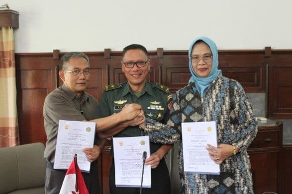 PKS TNI AD dengan Unpad dan Unjani, Bangun SDM Unggul dan Bentuk Program Studi Psikologi Militer