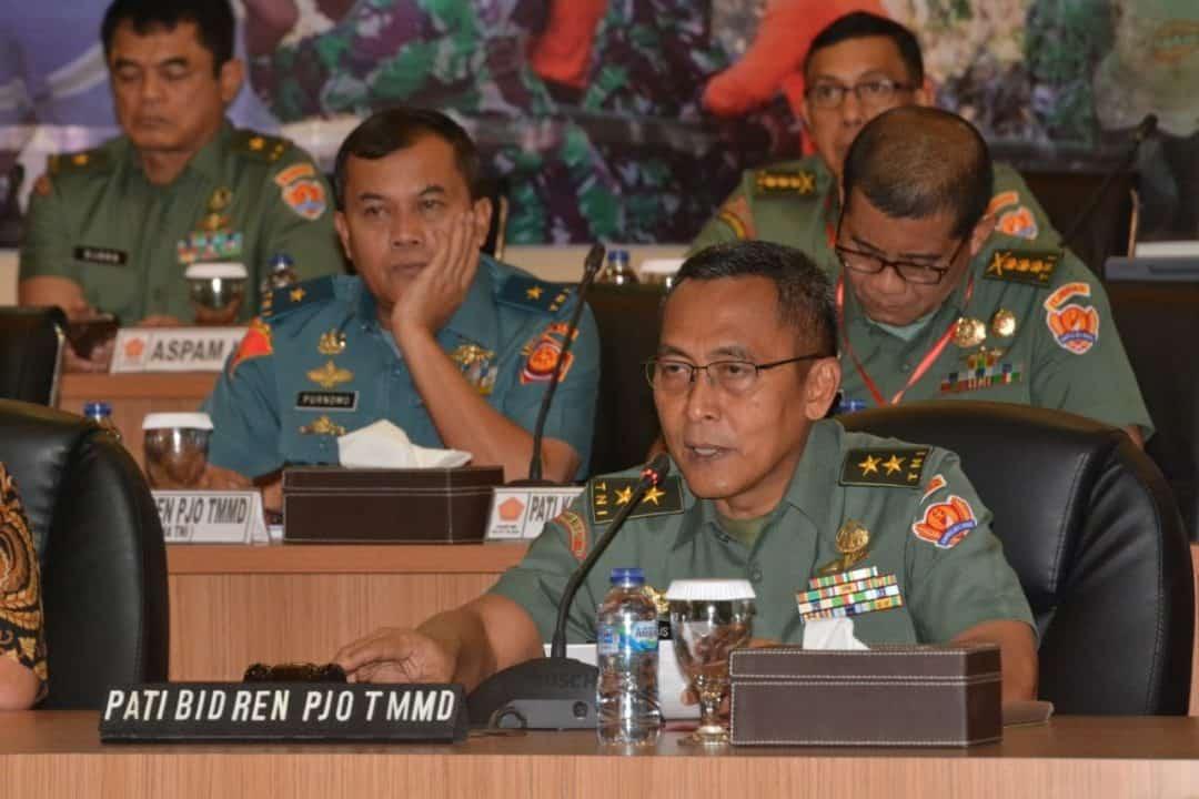 Rakornis TMMD, Sinergitas Dengan 27 Kementerian/LPNK