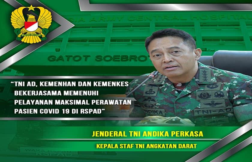 Peninjauan Lebih Lanjut Jenderal TNI Andika Perkasa Terhadap Kesiapan RSPAD