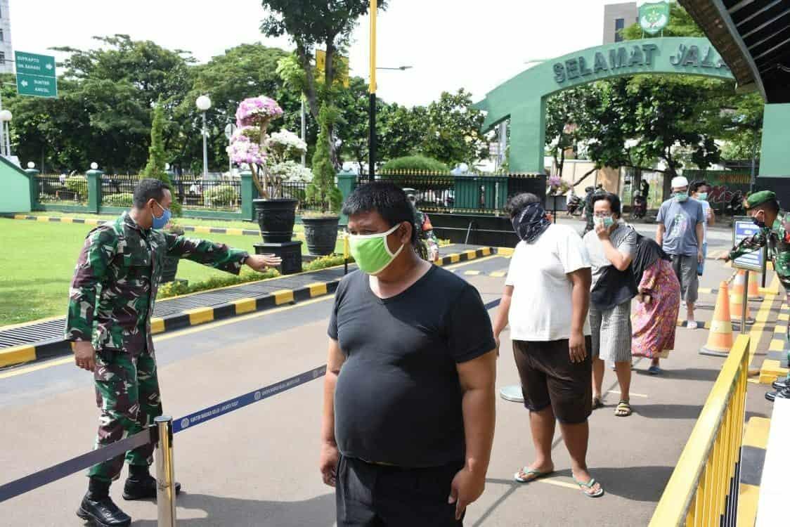 Hari Kedua, 4.120 Orang Datangi Si Komandan di Kodim Jakarta