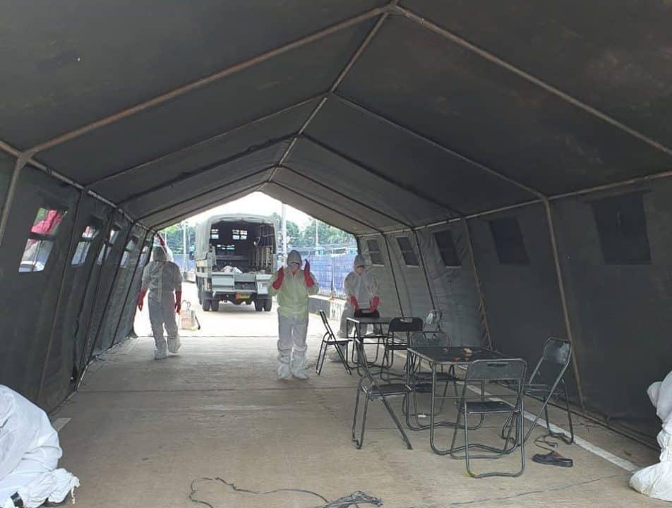Urai Antrian, Bekangdam Jaya Dirikan Tenda Di Zona Merah COVID-19