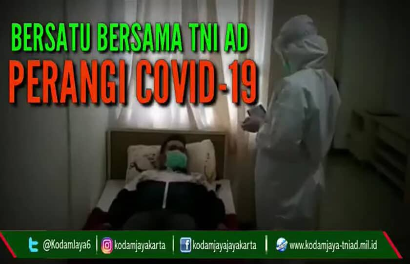 Bersatu Bersama TNI AD Perangi Covid-19