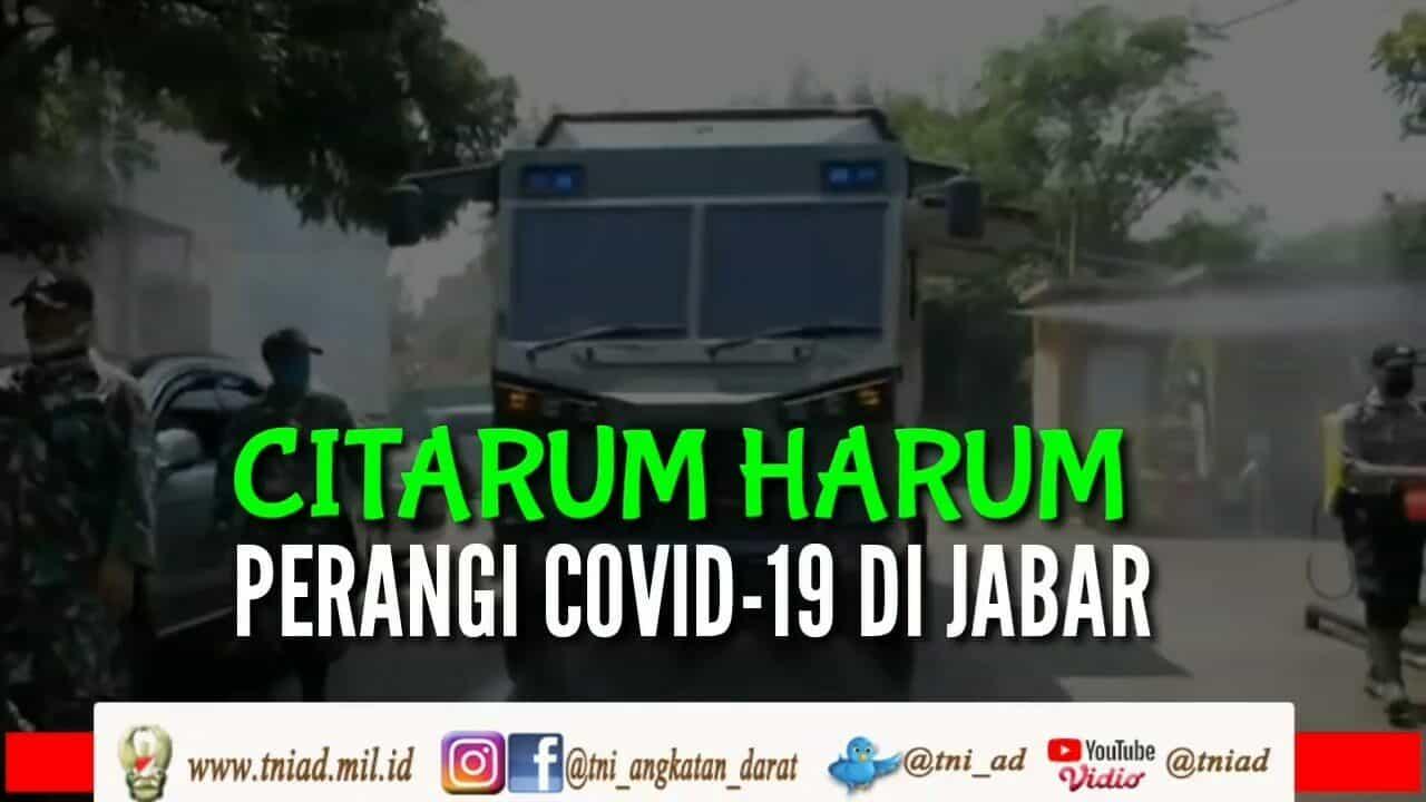 Citarum Harum Perangi Covid-19 di Jabar | KABAR TNI AD