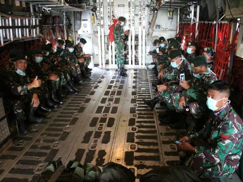Tunaikan Misi Kemanusiaan, Prajurit Yonkes-2 Kostrad Perangi Corona di RSD Wisma Atlet