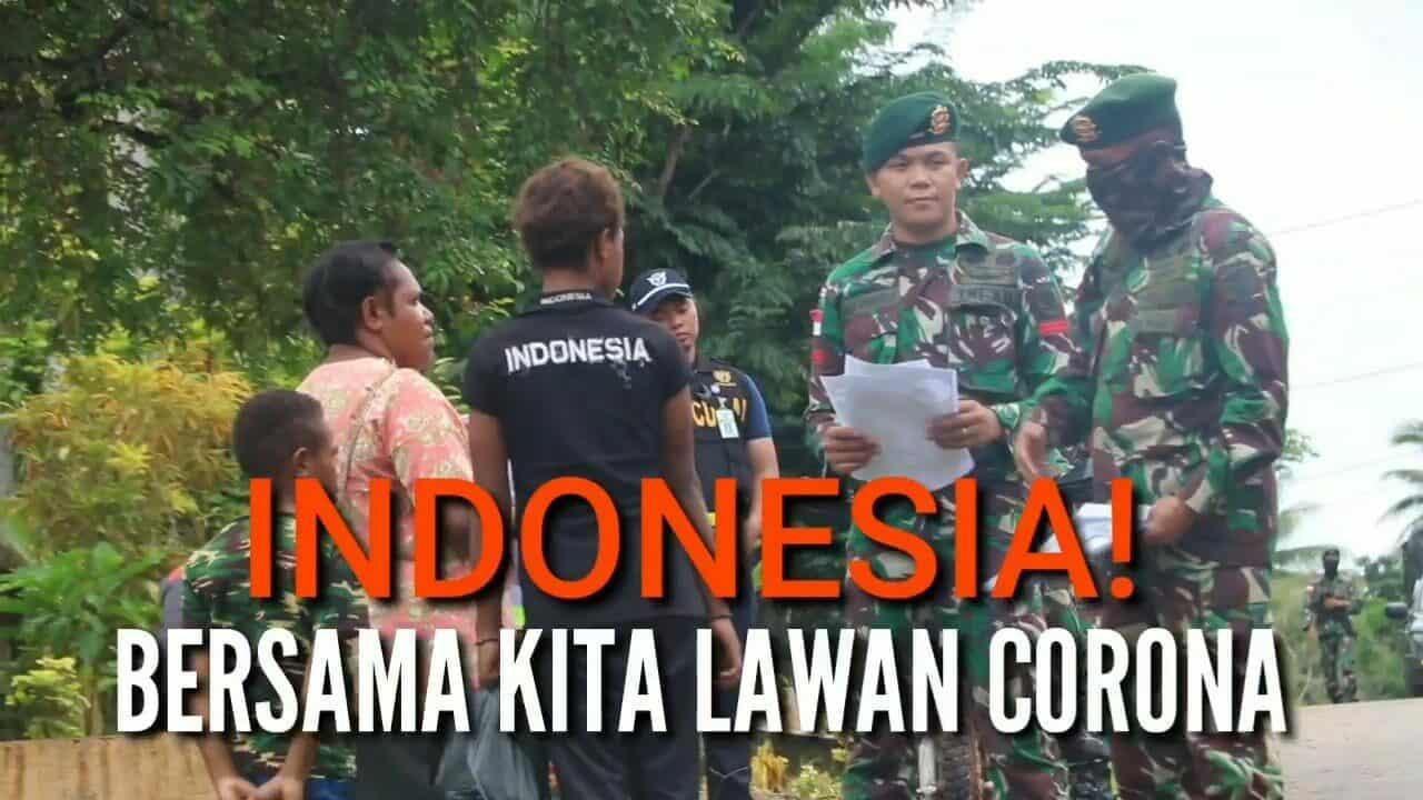 Indonesia! Bersama Kita Lawan Corona | Kabar TNI AD
