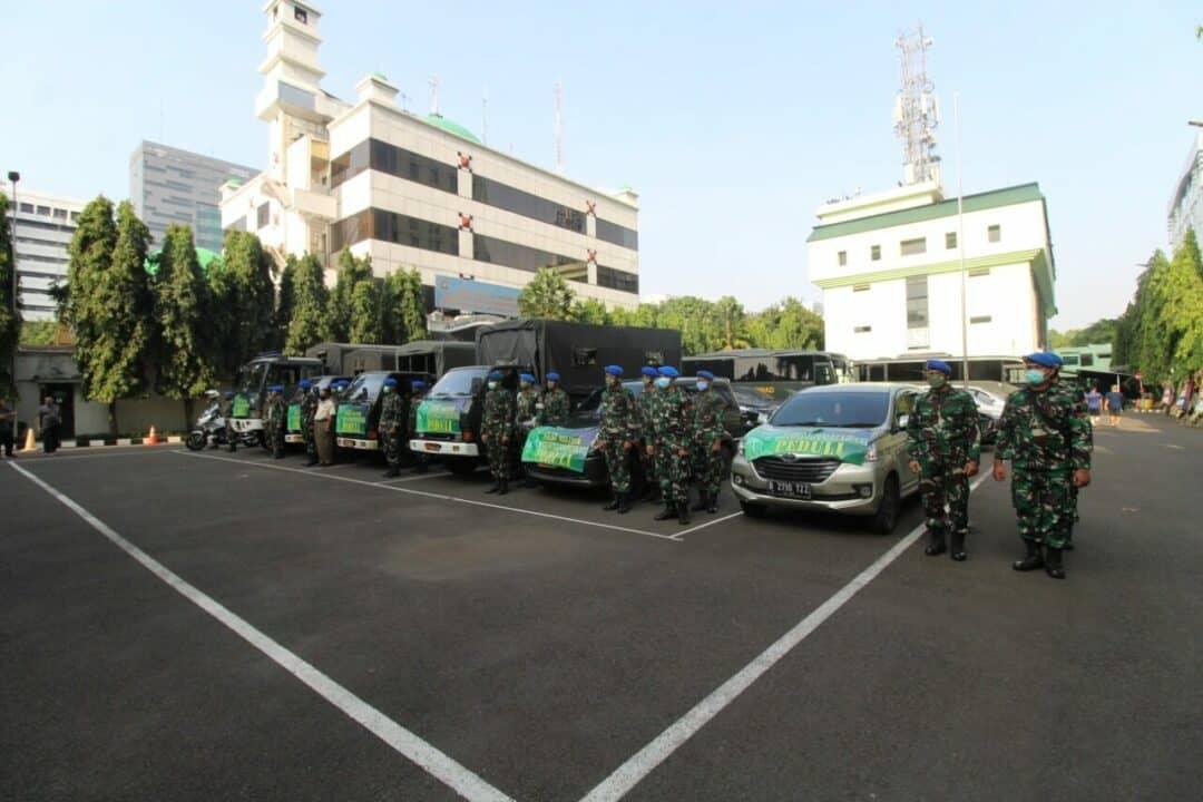 1000 Paket Sembako, Pomad Peduli Warga Terdampak COVID-19