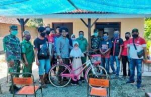 Berbagi Warga Yatim Piatu, Kodim Ponorogo Rehab Rumah