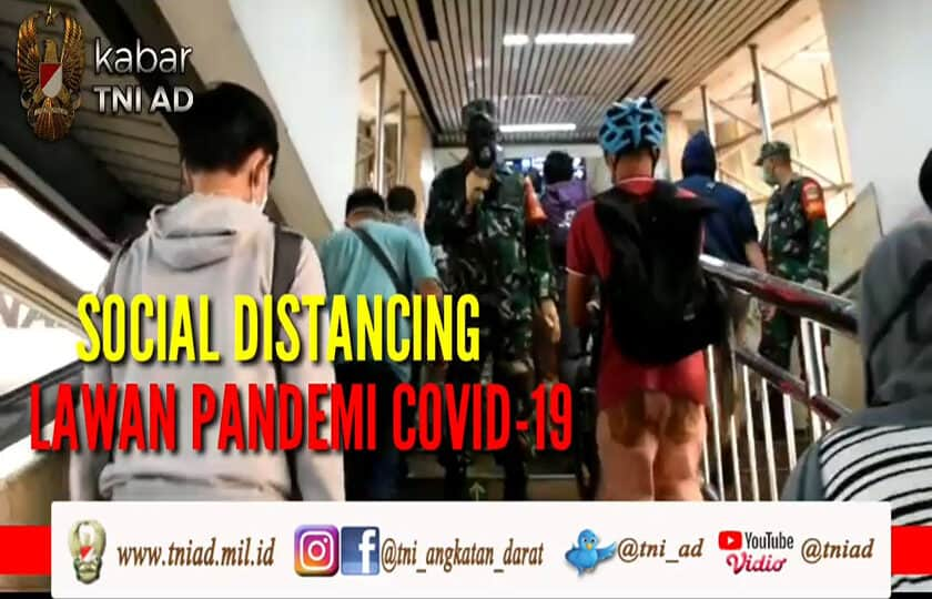 Social Distancing Lawan Pandemi COVID-19