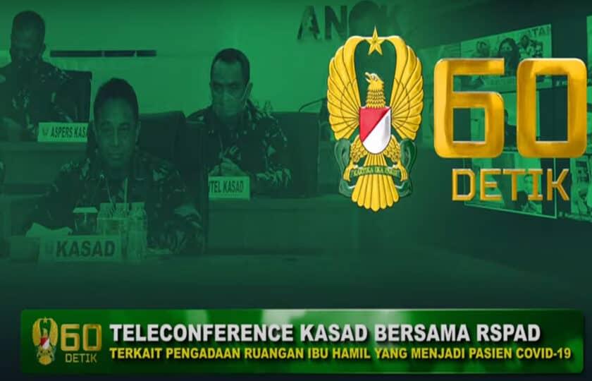 RSPAD Gatot Soebroto Sediakan Ruangan Khusus Pasien Covid-19 yang Sedang Hamil | 60″ TNI AD