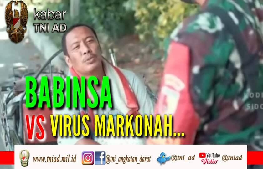 Babinsa VS Virus Markonah