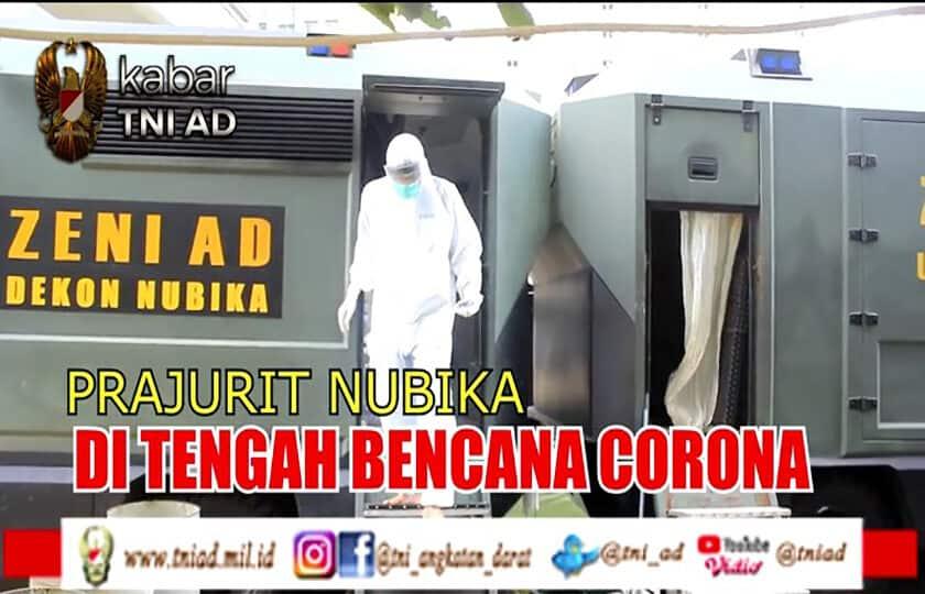 Prajurit Nubika di Tengah Bencana Corona | KABAR TNI AD