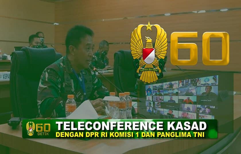 Laporan Kasad ke Komisi I DPR RI Terkait Kondisi RSPAD Gatot Soebroto Menangani Covid-19 I 60″ TNI AD