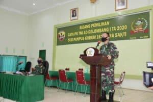 342 Putra Terbaik NTT Lolos Test Prajurit TNI AD TA. 2020