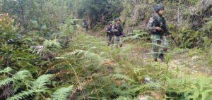 Susuri Sungai dan Hutan, Satgas Yonif R 509 Jaga Stabilitas Papua