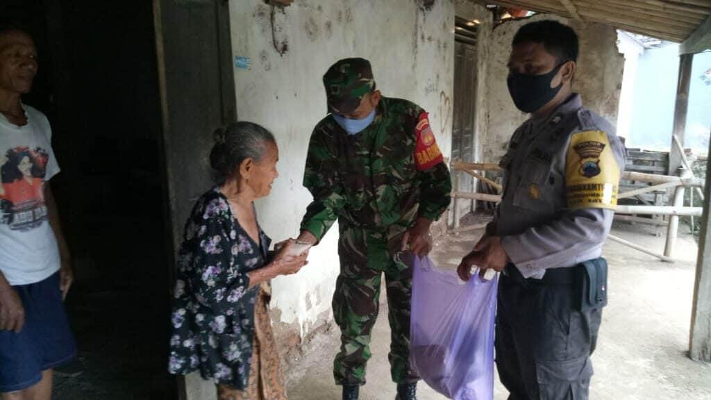 Wong Cilik Ojo Nganti Ngeleh, Kodim 0727/Karanganyar Bantu Warga Karanganyar