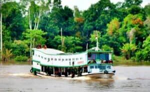 2 Hari Susuri Sungai Mahakam, Satgas Yonif 200 Siap Amankan Perbatasan RI-Malaysia