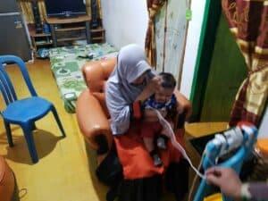 Lebaran Virtual, TNI AD -MNC Penuhi Harapan Satgas Yonif 713
