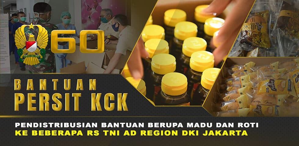 Bantuan Berkala Kepada Tenaga Medis RS TNI AD Region Jakarta I 60″ TNI AD