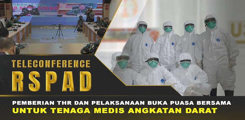 Kasad Alokasikan THR Bagi Tenaga Medis Rumah Sakit TNI AD I 60″ TNI AD
