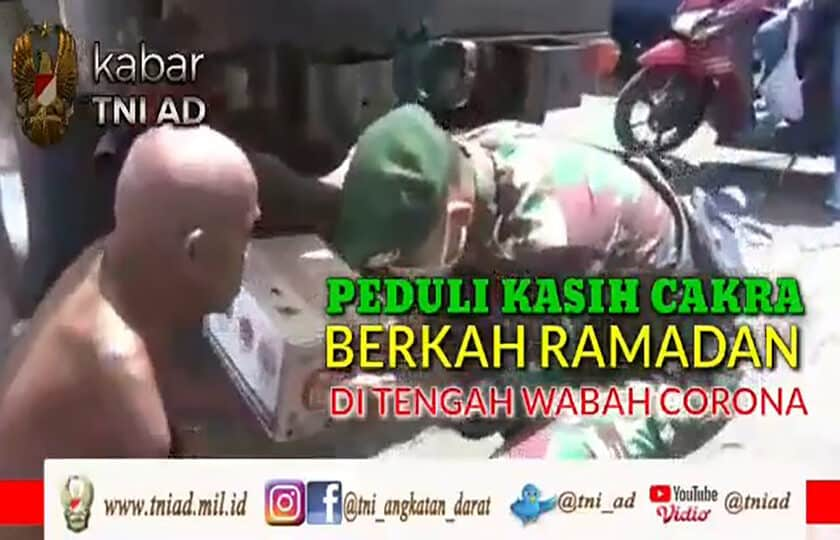 Peduli Kasih Cakra, Berkah Ramadan Di Tengah Wabah Corona
