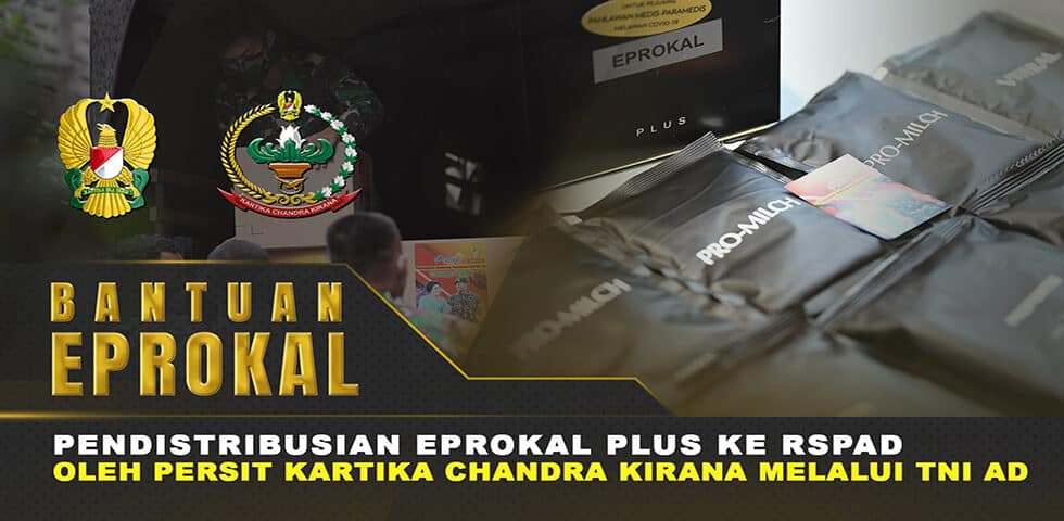 Bantuan Eprokal Plus untuk Tenaga Medis RSPAD Gatot Soebroto | 60″ TNI AD
