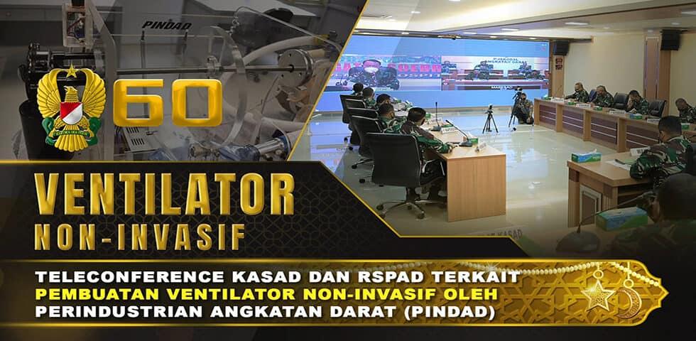 Perindustrian Angkatan Darat Membuat Ventilator Non-Invasif untuk Menangani Covid-19