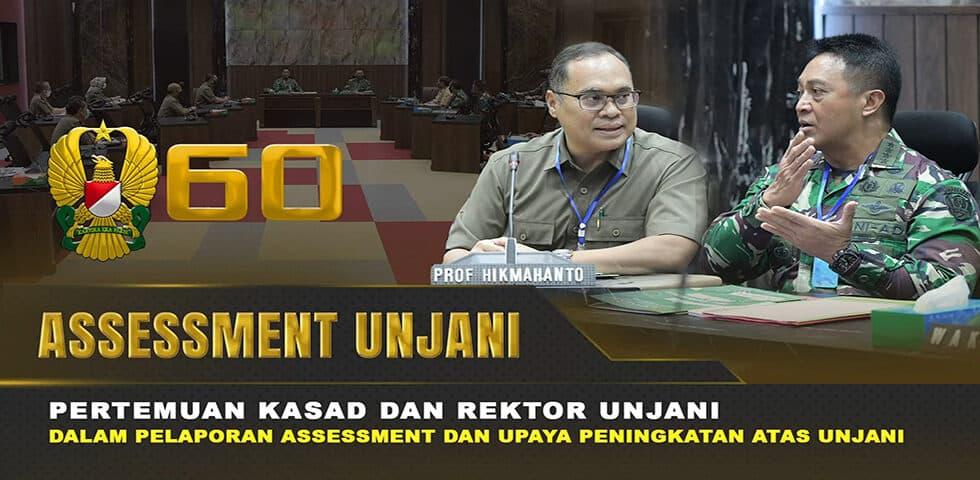 Rektor UNJANI Temui Kasad Terkait Assessment dan Upaya Peningkatan I 60″ TNI AD