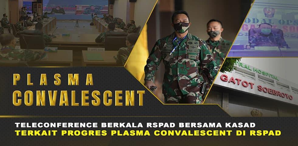 RSPAD  Rumah Sakit Pertama yang Melakukan Terapi Plasma Konvalesen Pasien Covid-19 I 60″ TNI AD