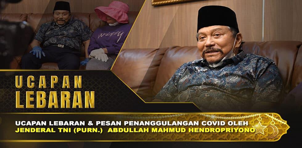 """Ucapan Lebaran dan Pesan A.M Hendropriyono dalam Menghadapi Covid-19 I 60"""" TNI AD"""