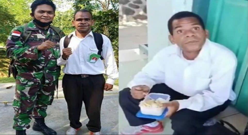 Tekad Kuat Anak Papua, Bekal Nasi Dan Tahu Hantar Yusuf Wonda Jadi Prajurit TNI AD