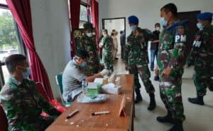 Jamin Siap Operasi, Brigjen Jannie Tes Narkoba Anggota Korem Kendari