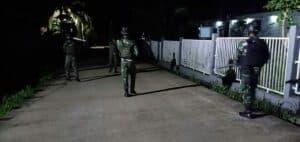 Patroli Satgas Yonif 713, Jamin Keamanan Masyarakat Papua