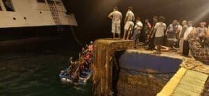 Naluri Keprajuritan, Prajurit Yonif Mekanis 741 Evakuasi Korban Kapal Tenggelam