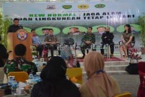 Kasdam III/Slw Jadi Nara Sumber Diskusi Panel New Normal Jaga Alam dan Lingkungan Tetap Lestari