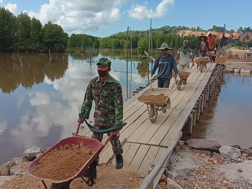 Gerobak Babinsa, Kodim Aceh Jaya Tingkatkan Ekonomi Warga