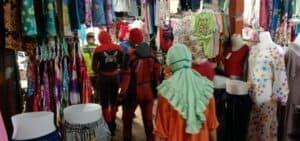 Spiderman, Wiro Sableng dan Superhero Bantu Kodim OKI Cegah Penyebaran COVID-19 di Kayu Agung