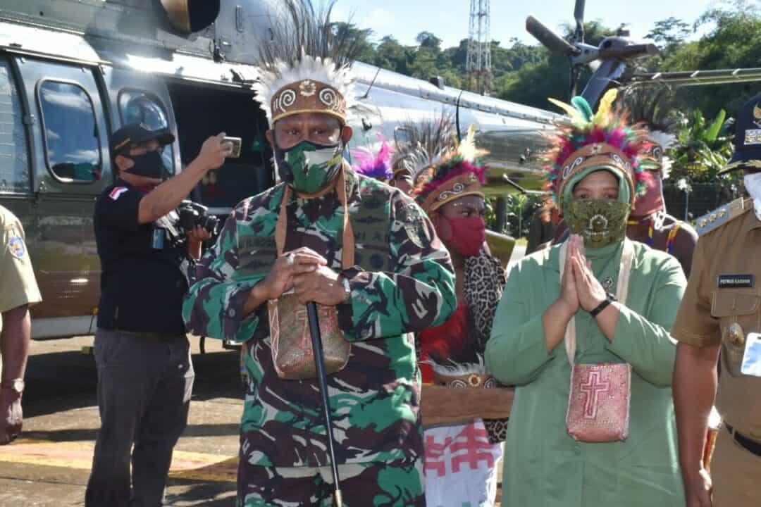 Pangdam XVIII/Kasuari Buka Opster TNI, Sekaligus Cek Pembangunan Brigif 26/GP