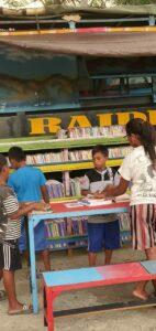 Banau Moving Library, Terobosan Satgas Yonif RK 732 Cerdaskan Anak Seram